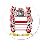 Thornhill Round Car Magnet