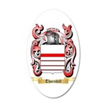 Thornhill 20x12 Oval Wall Decal