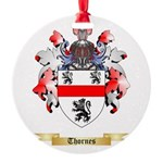 Thornes Round Ornament
