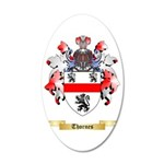 Thornes 35x21 Oval Wall Decal