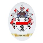 Thornes Oval Ornament