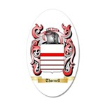 Thornell 20x12 Oval Wall Decal