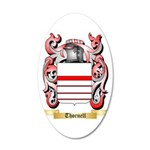 Thornell 35x21 Oval Wall Decal