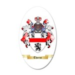 Thorne 20x12 Oval Wall Decal