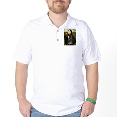 Mona's Black Shar Pei Golf Shirt