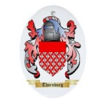 Thornburg Oval Ornament