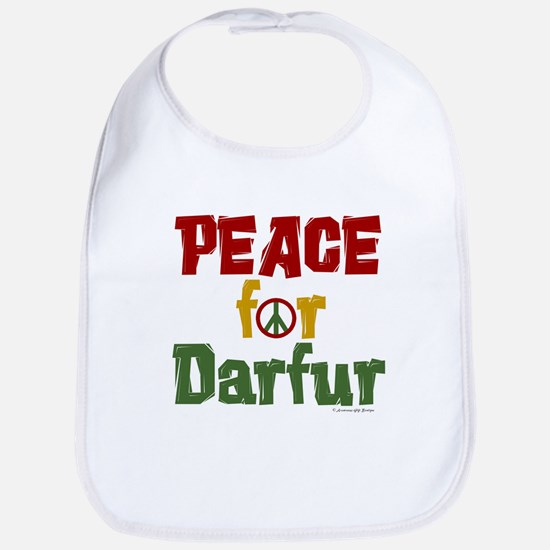 Peace For Darfur 1.1 Bib