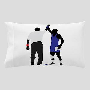 Wrestling winner art Pillow Case