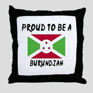 Proud To Be Burudian Throw Pillow