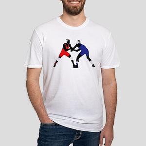 Wrestling fight art T-Shirt