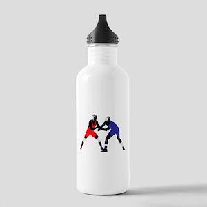 Wrestling fight art Stainless Water Bottle 1.0L