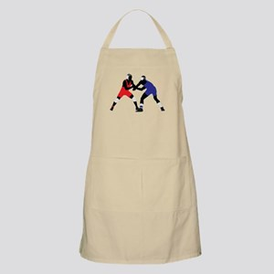 Wrestling fight art Apron