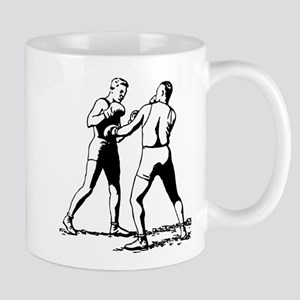 Old time boxing fight Mugs
