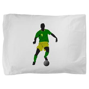 Brazil football player Pillow Sham