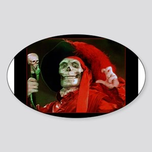 Classic Red Death Sticker