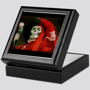 Classic Red Death Keepsake Box