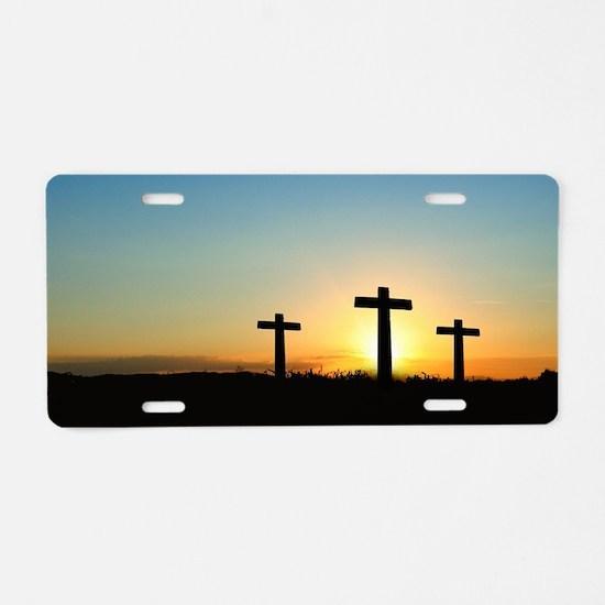 Cute Baptist Aluminum License Plate