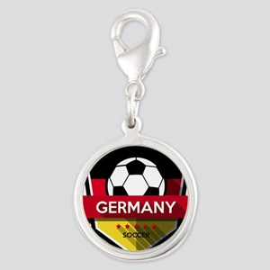 Creative soccer Germany label Charms