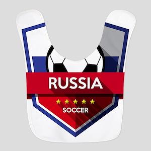 Creative soccer Russia label Bib