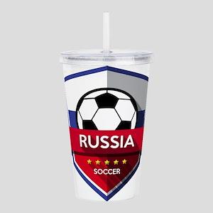 Creative soccer Russia Acrylic Double-wall Tumbler