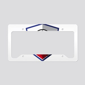 Creative soccer Russia label License Plate Holder