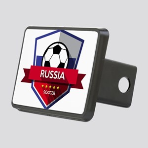 Creative soccer Russia lab Rectangular Hitch Cover