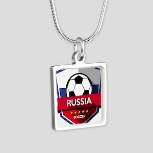 Creative soccer Russia label Necklaces