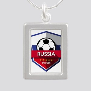 Creative soccer Russia label Necklaces