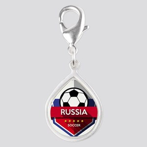 Creative soccer Russia label Charms