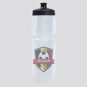 Creative soccer Belgium label Sports Bottle