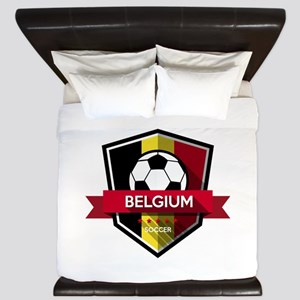 Creative soccer Belgium label King Duvet