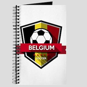 Creative soccer Belgium label Journal