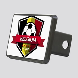 Creative soccer Belgium la Rectangular Hitch Cover