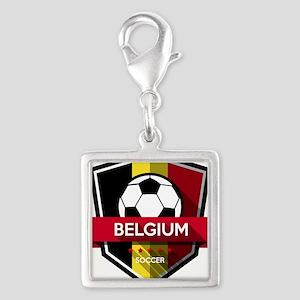 Creative soccer Belgium label Charms