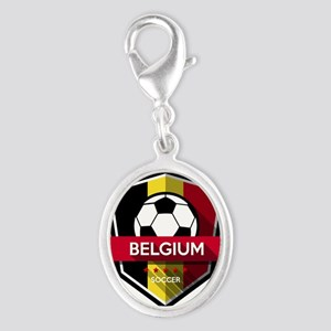 Creative soccer Belgium label Charms