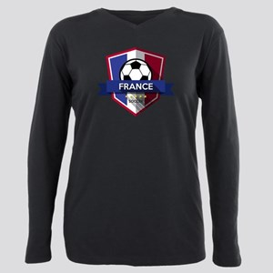 Creative soccer France l Plus Size Long Sleeve Tee