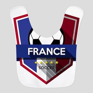 Creative soccer France label Bib