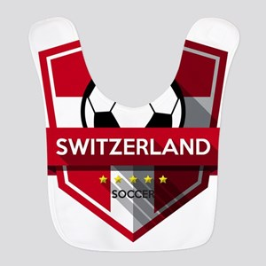 Creative soccer Switzerland label Bib