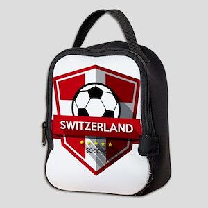 Creative soccer Switzerland lab Neoprene Lunch Bag