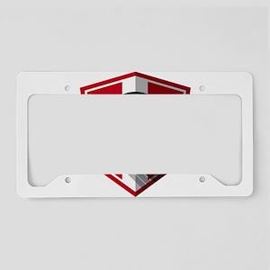Creative soccer Switzerland l License Plate Holder