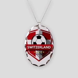 Creative soccer Switzerland la Necklace Oval Charm