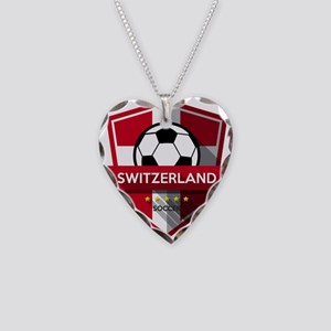 Creative soccer Switzerland l Necklace Heart Charm