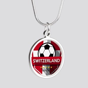Creative soccer Switzerland label Necklaces