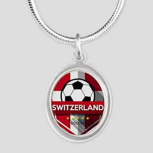 Creative soccer Switzerland label Necklaces