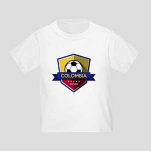 Creative soccer Colombia label T-Shirt