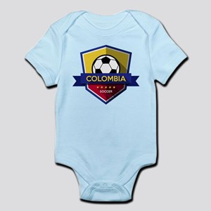Creative soccer Colombia label Body Suit