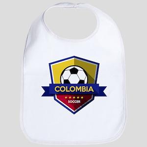 Creative soccer Colombia label Bib