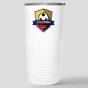 Creative soccer Colombi Stainless Steel Travel Mug