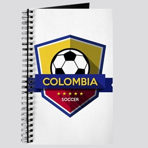 Creative soccer Colombia label Journal