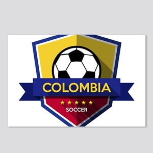 Creative soccer Colombia Postcards (Package of 8)